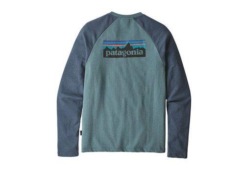 PATAGONIA M's P-6 Logo LW Crew Sweatshirt BLUE