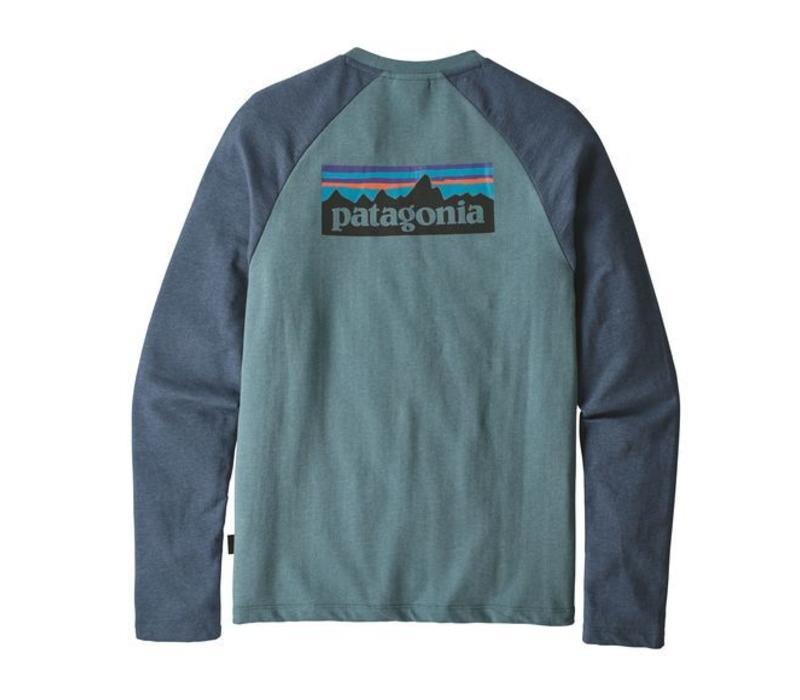 M's P-6 Logo LW Crew Sweatshirt BLUE