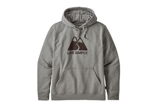 PATAGONIA Patagonia M'S Live Simply Winding Uprisal Hoody Gravel