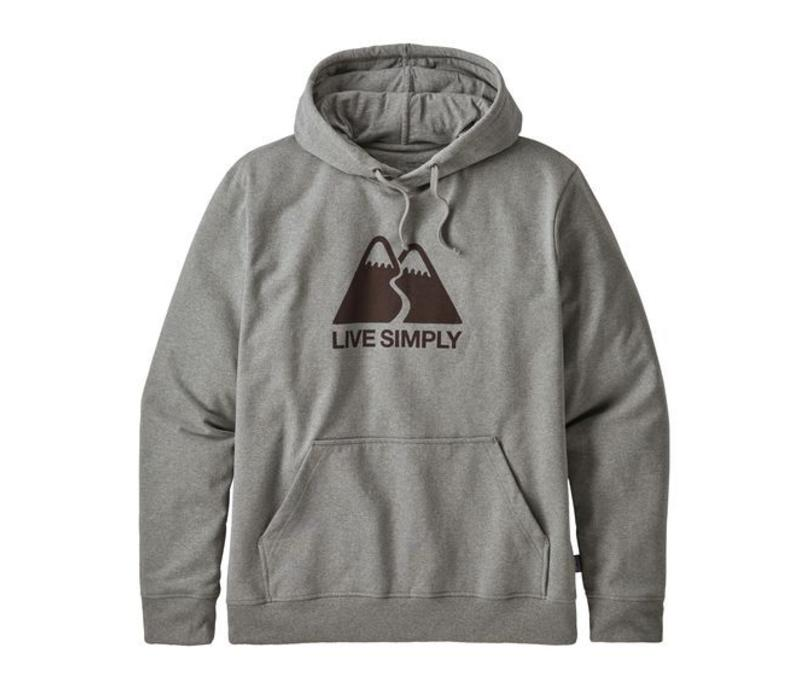 M's Live Simply Winding Uprisal Hoody GRAVEL