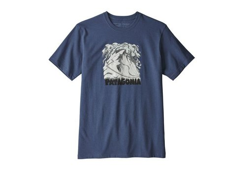 PATAGONIA Patagonia M'S Cornice Canvas Responsibili-Tee Blue