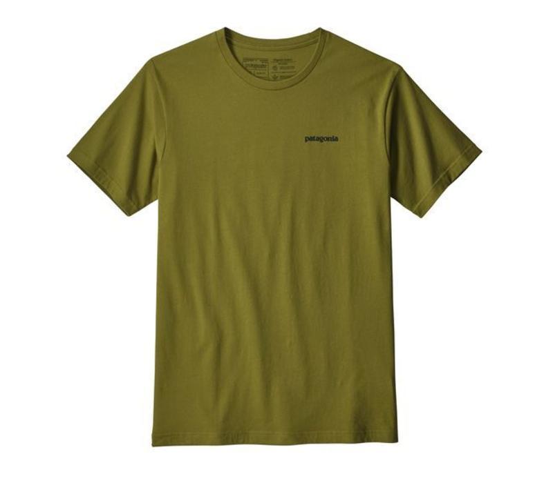 M's P-6 Logo Organic T-Shirt GREEN