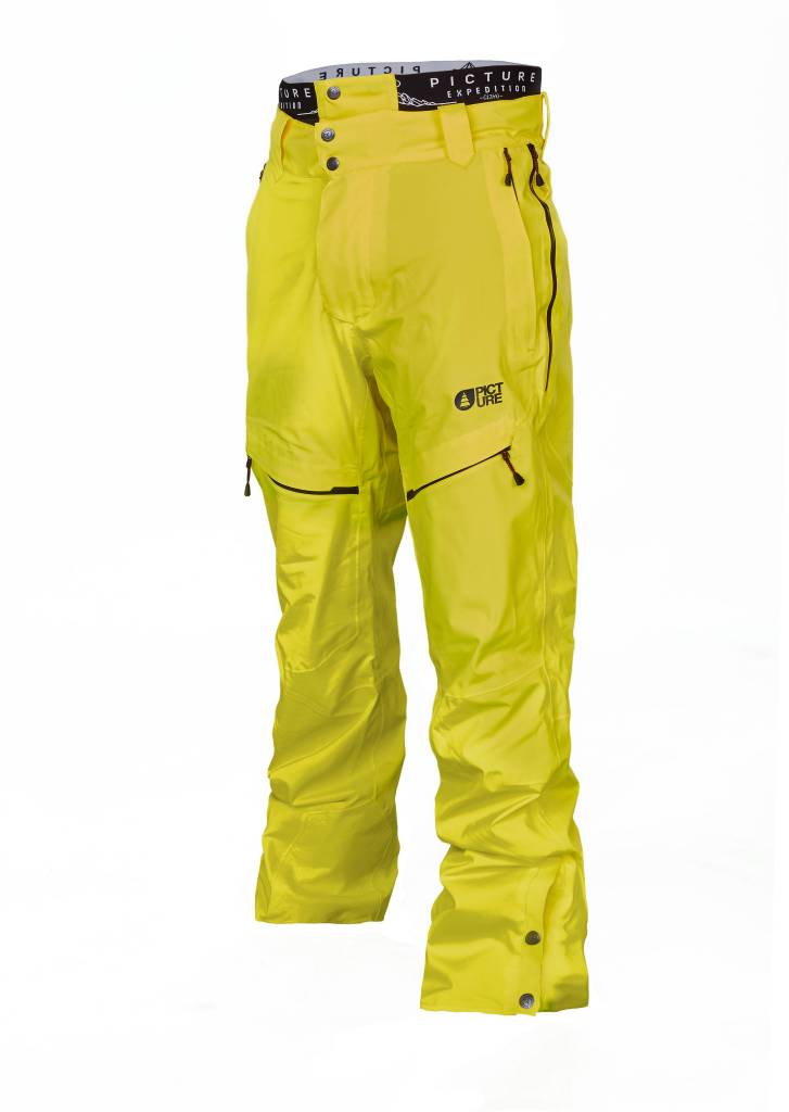 PICTURE NAIKOON PANT Yellow 2e4171363