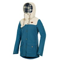 KATE JACKET Petrol Blue