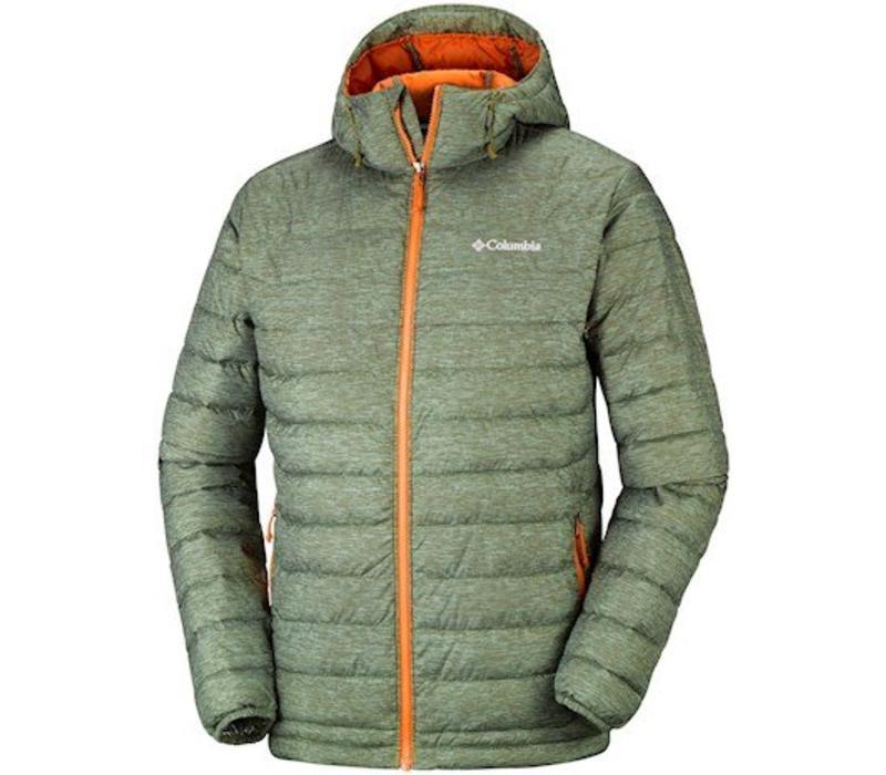 Powder Lite Hooded Jacket Peatmoss