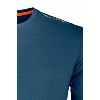 Ortovox 185 Rock N Wool Short Sleeve Nblue