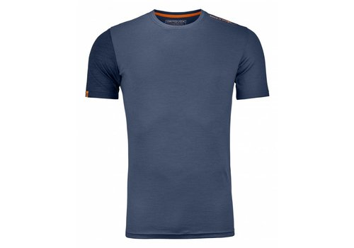 ORTOVOX Ortovox 185 Rock N Wool Short Sleeve Nblue