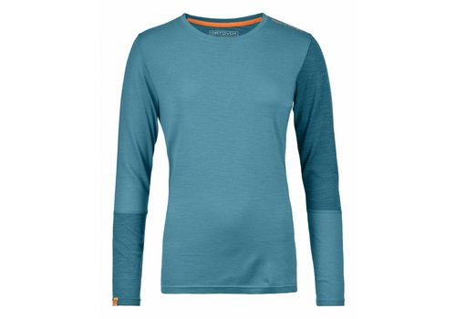 ORTOVOX Ortovox 185 Rock N Wool Long Sleeve W'S Aqua