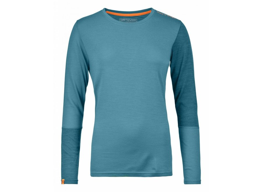 Ortovox 185 Rock N Wool Long Sleeve W'S Aqua