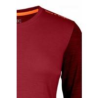 Ortovox 185 Rock N Wool Long Sleeve W'S Dblood