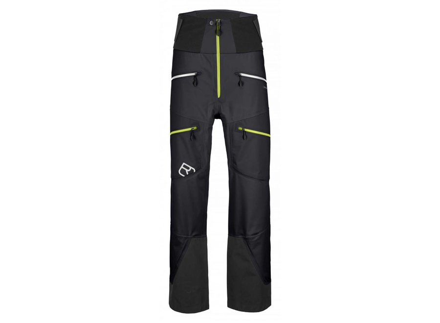 Ortovox 3L Guardian Shell Pants Blk Raven