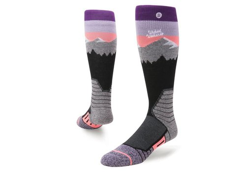 STANCE WHITE CAPS SOCK Purple