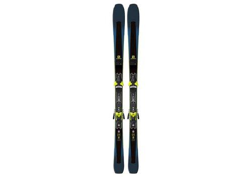 SALOMON Salomon Xdr 80 Ti Ski + Z12 Walk Binding Black
