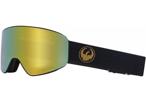 DRAGON ALLIANCE Pxv- Gold + Lumalens Amber Lens
