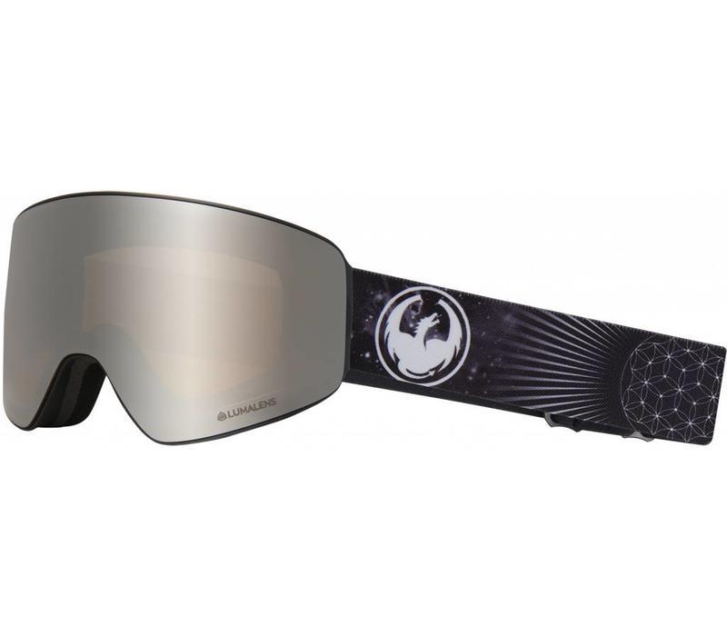 Pxv-Galaxy  with Lumalens Silver Ionized + Dark Smoke Lens
