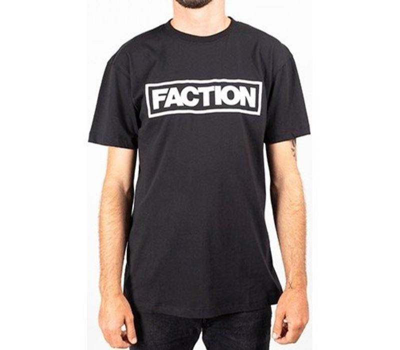 Faction Tall Logo T-Shirt Black