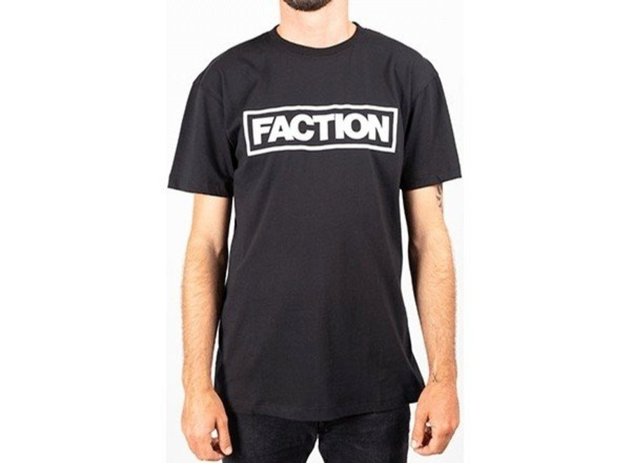 Faction Tall Logo T-Shirt Black