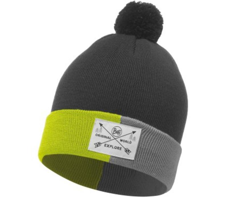 Kelda Grey Jnr Knitted Hat