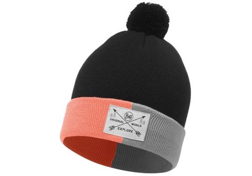 BUFF Buff Kelda Graphite Jnr Knitted Hat