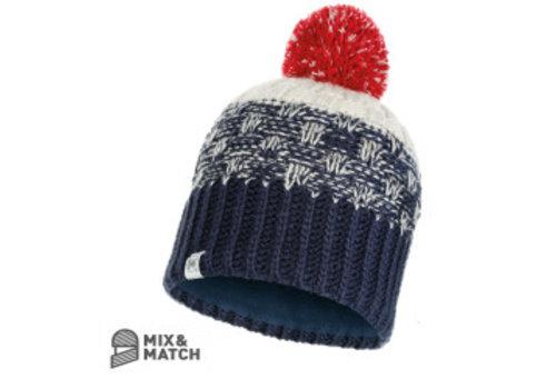 BUFF Buff Tait Dark Denim Jnr Knitted Hat