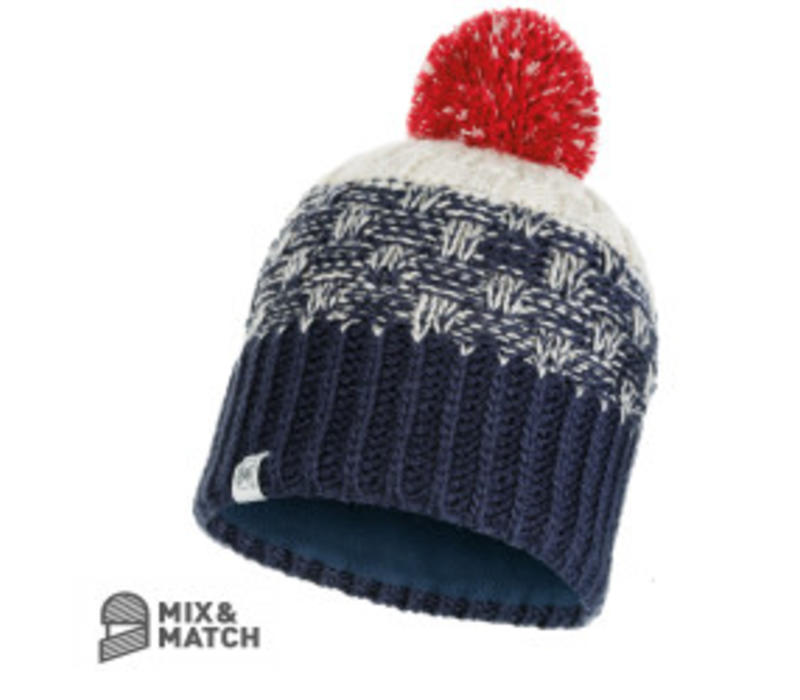Buff Tait Dark Denim Jnr Knitted Hat