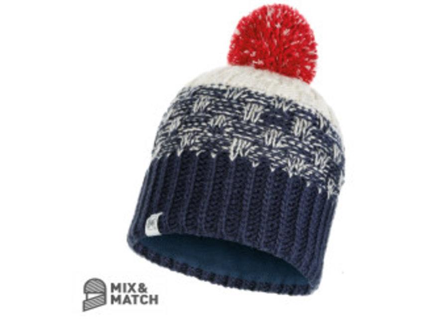 Buff Tait Dark Denim Jnr Knitted Hat