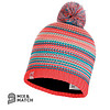 BUFF Buff Amity Coral Pink Jnr Knitted Hat