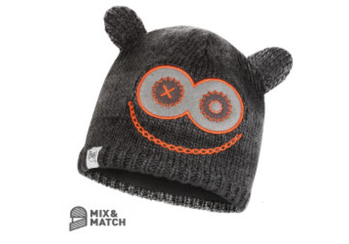 BUFF Monster Jolly Black Jnr Knitted Hat