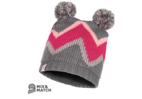 BUFF Buff Arild Grey Jnr Knitted Hat