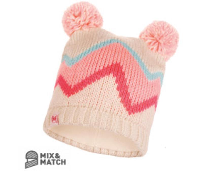 Buff Arild Multi Jnr Knitted Hat
