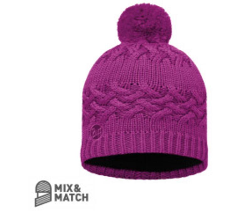 Buff Savva Mardi Grape Hat Knitted Hat