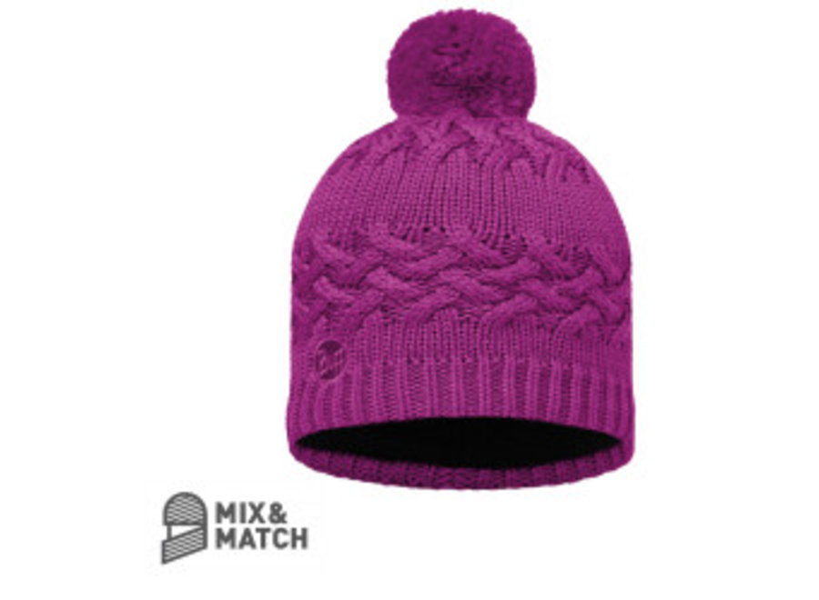 Buff Savva Mardi Grape Hat Knitted Hat