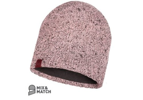 BUFF Buff Arne Pale Pink Knitted Hat