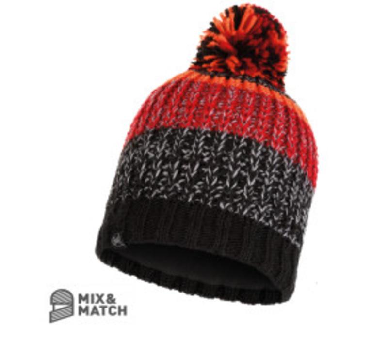 Buff Stig Black Knitted Hat