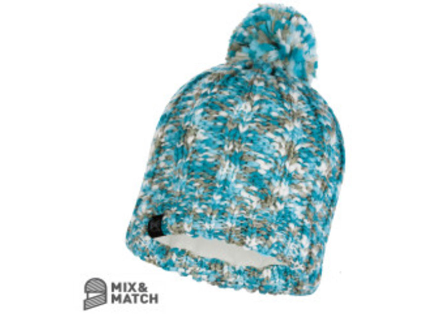 Buff Livy Aqua Knitted Hat