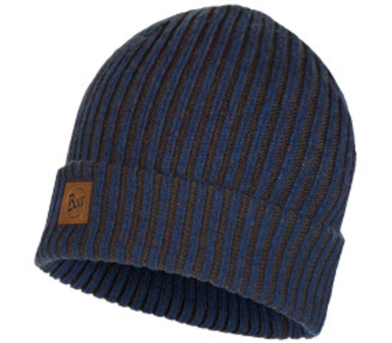 Buff Lars Night Blue Knitted Hat