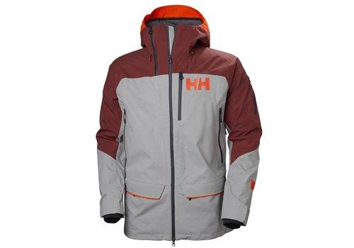 HELLY HANSEN Helly Hansen Ridge Shell 2.0 Jacket Light Grey/Brick