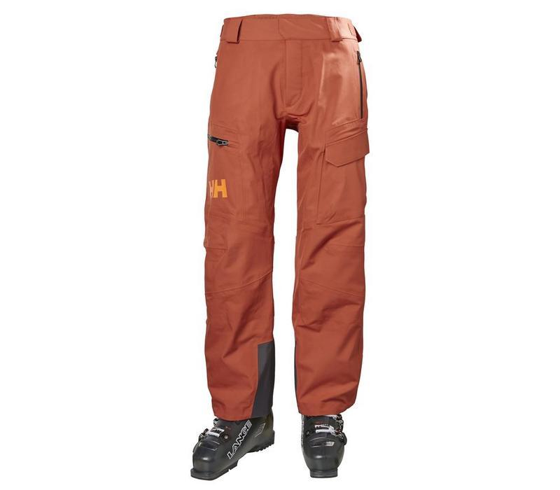 Ridge Shell Pant Red Brick