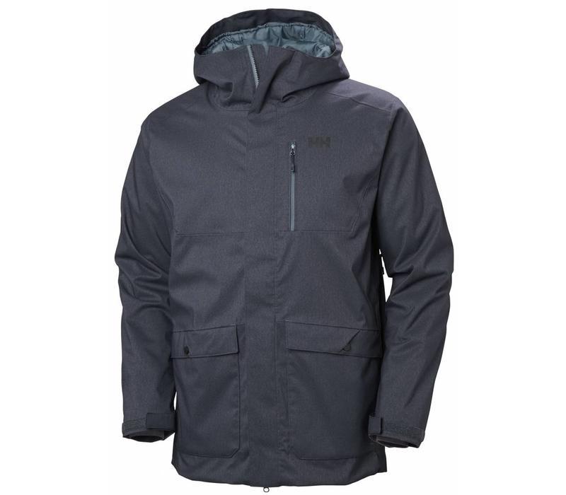 Park City Jacket Graphite Blue