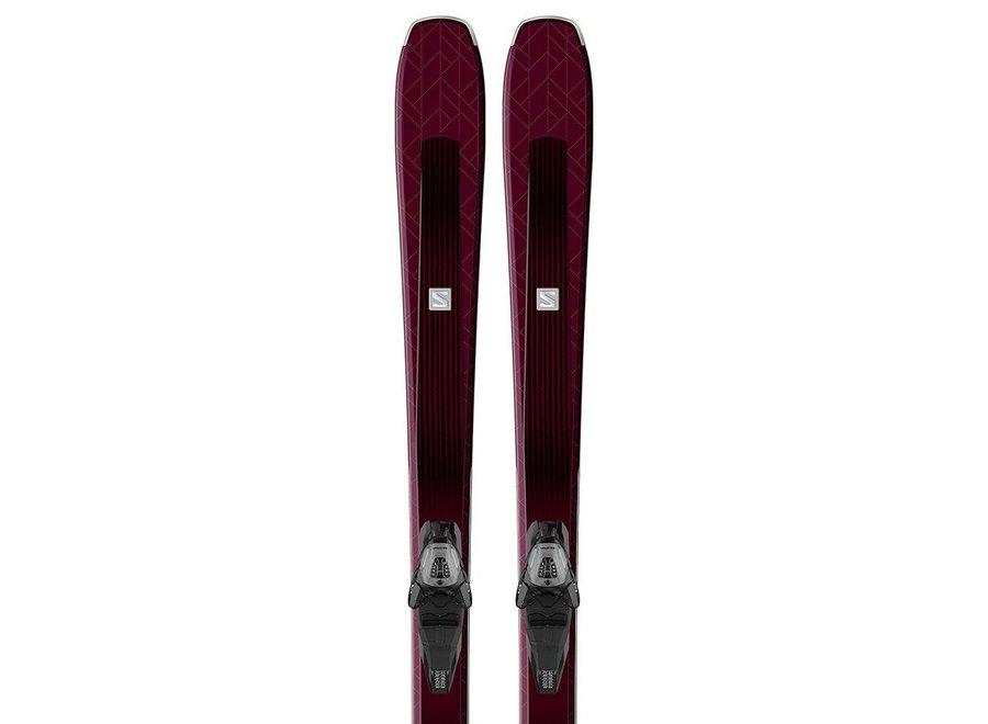 Salomon Aira 76 St Ski + Lithium 10 Binding