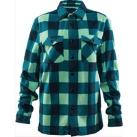 "ASHER WOMEN""S FLEECE SHIRT Aqua"
