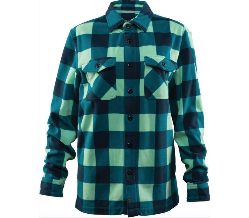 """Thirtytwo Asher Women""""S Fleece Shirt Aqua"""
