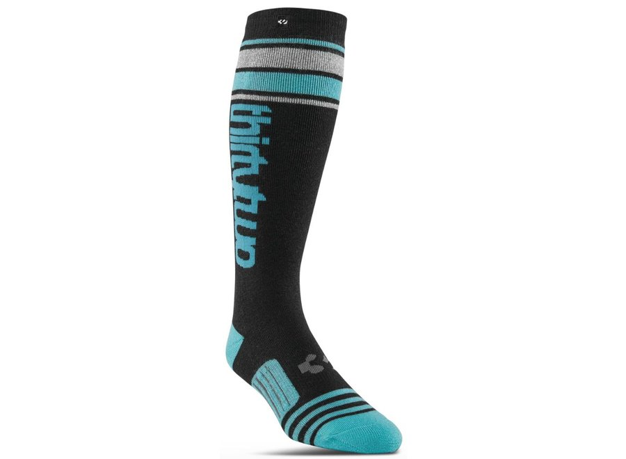 Thirtytwo Wms Stripe Graphic Sock Black
