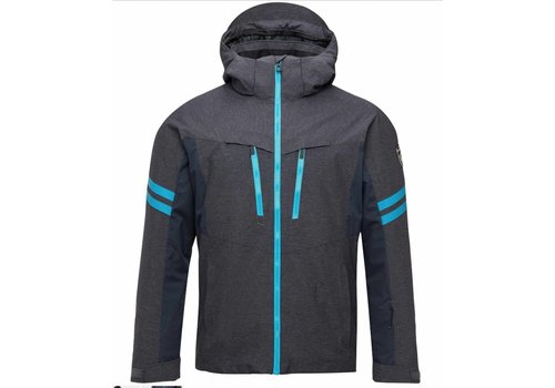 ROSSIGNOL Ski Oxford Jacket Heather Blue