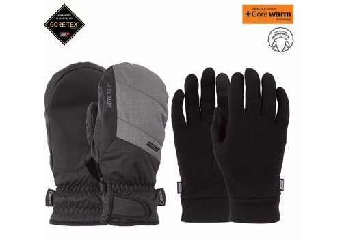 POW Pow Warner Gtx Short Mitt Charcoal