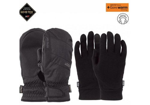 POW Pow Warner Gtx Short Glove Black