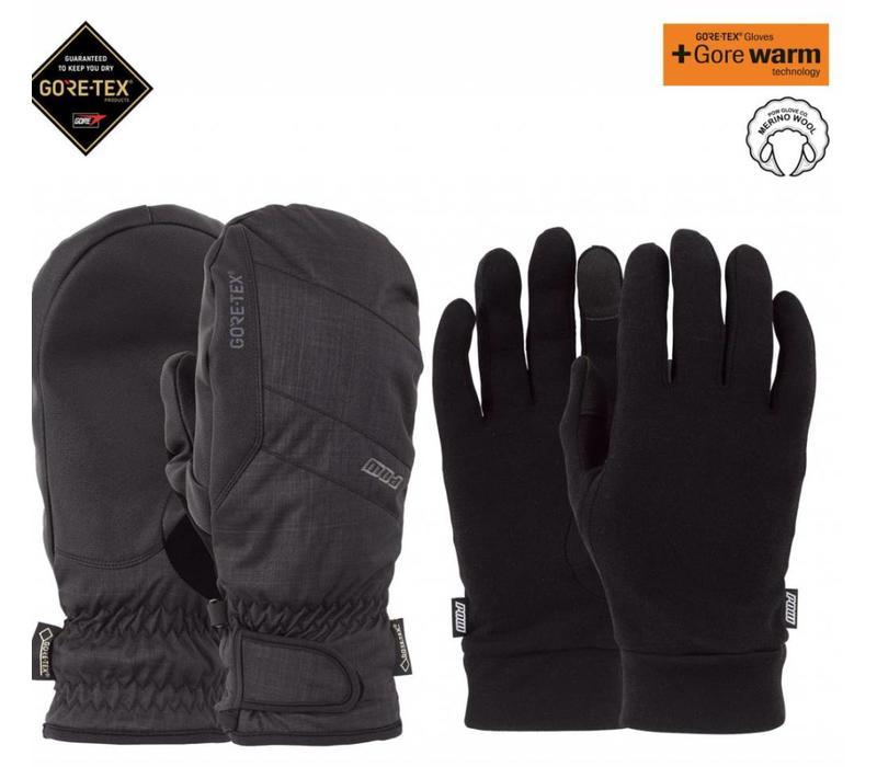Warner GTX Short Glove Black