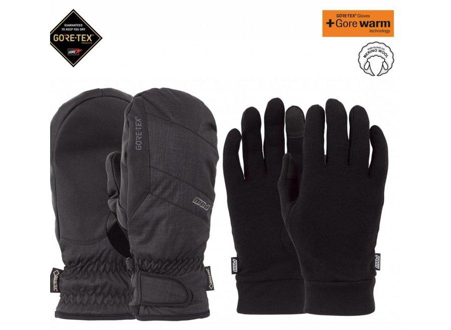 Pow Warner Gtx Short Glove Black