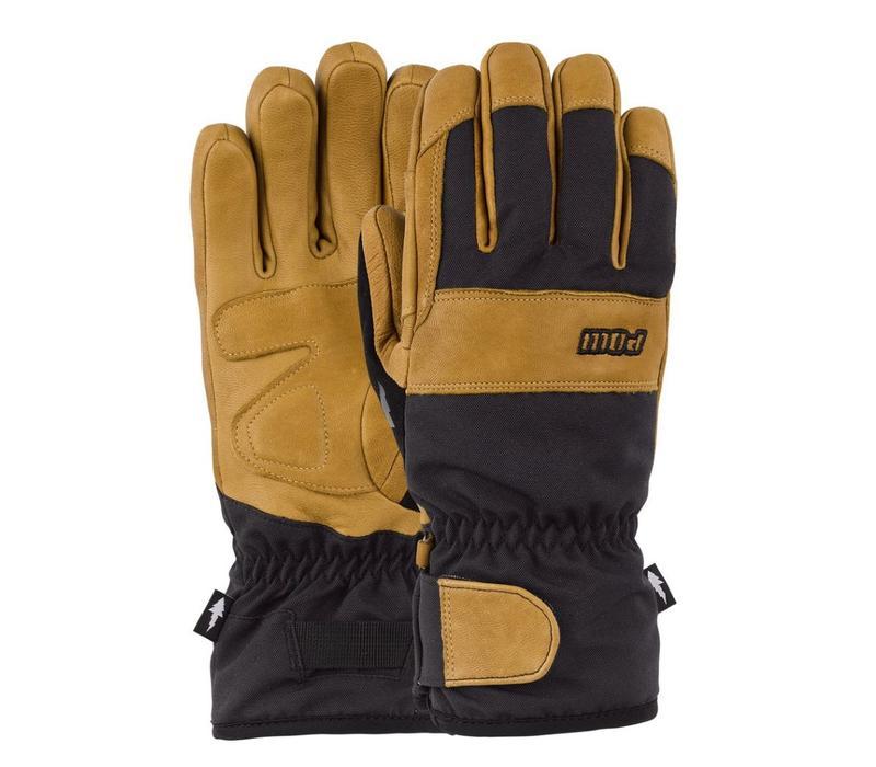 Pow August Short Glove Buckhorn Brown
