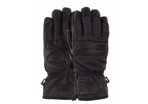 POW August Short Glove Black